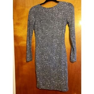 H&M glittering cocktail dress